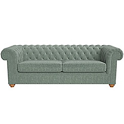 Debenhams - 4 seater chenille 'Chesterfield' sofa
