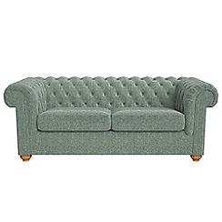 Debenhams - 3 seater chenille 'Chesterfield' sofa