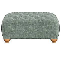 Debenhams - Chenille 'Chesterfield' footstool