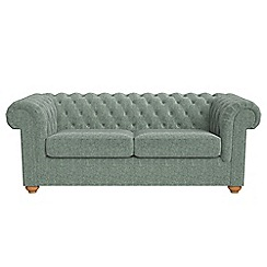Debenhams - 3 seater chenille 'Chesterfield' sofa bed