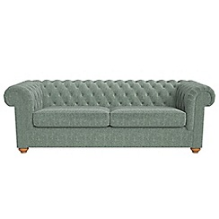 Debenhams - 4 seater chenille 'Chesterfield' sofa bed