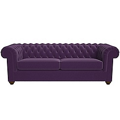 Debenhams - 4 seater velvet 'Chesterfield' sofa