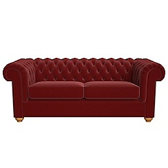 Debenhams - 3 seater velvet 'Chesterfield' sofa
