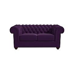 Debenhams - 2 seater velvet 'Chesterfield' sofa