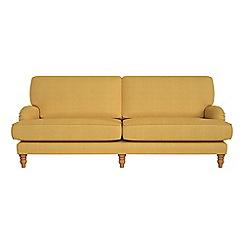 Debenhams - 4 seater tweedy weave 'Eliza' sofa