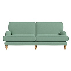 Debenhams - 4 seater flat weave fabric 'Eliza' sofa