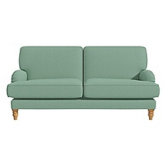 Debenhams - 3 seater flat weave fabric 'Eliza' sofa
