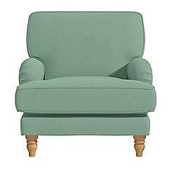 Debenhams - Flat weave fabric 'Eliza' armchair