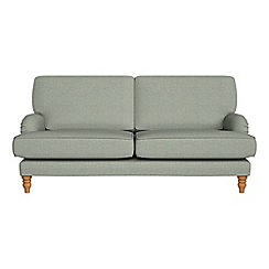 Debenhams - 3 seater textured weave 'Eliza' sofa