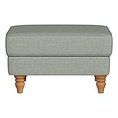 Debenhams - Textured weave 'Eliza' footstool