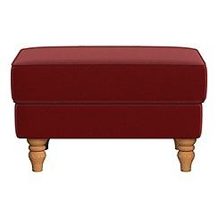 Debenhams - Velvet 'Eliza' footstool