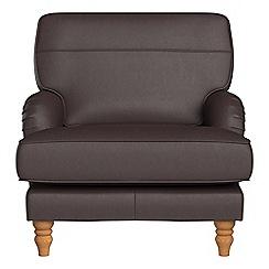 Debenhams - Luxury leather 'Eliza' armchair