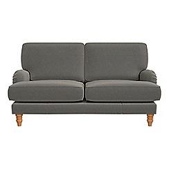 Debenhams - 2 seater natural grain leather 'Eliza' sofa