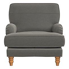 Debenhams - Natural grain leather 'Eliza' armchair