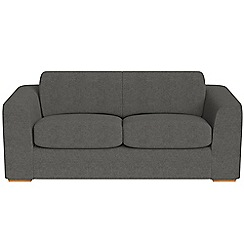 Debenhams - 3 seater tweedy fabric 'Jackson' sofa