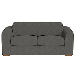 Debenhams - 3 seater tweedy fabric 'Jackson' sofa bed