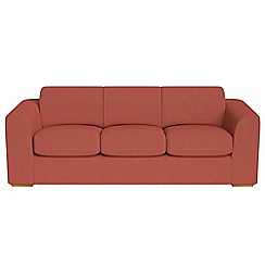 Debenhams - 4 seater flat weave fabric 'Jackson' sofa