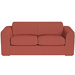 Debenhams - 3 seater flat weave fabric 'Jackson' sofa
