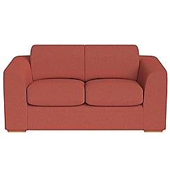 Debenhams - 2 seater flat weave fabric 'Jackson' sofa