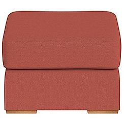 Debenhams - Flat weave fabric 'Jackson' footstool