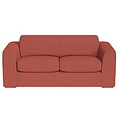 Debenhams - 3 seater flat weave fabric 'Jackson' sofa bed
