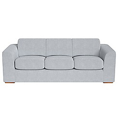 Debenhams - 4 seater brushed cotton 'Jackson' sofa