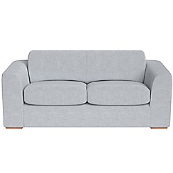 Debenhams - 3 seater brushed cotton 'Jackson' sofa