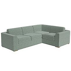 Debenhams - Large chenille 'Jackson' right-hand facing corner sofa end