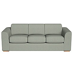 Debenhams - 4 seater textured fabric 'Jackson' sofa