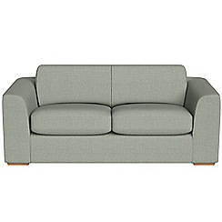 Debenhams - 3 seater textured fabric 'Jackson' sofa