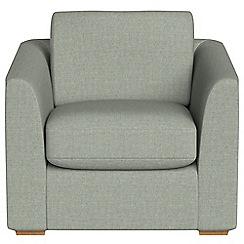 Debenhams - Textured fabric 'Jackson' armchair