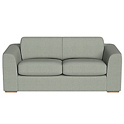 Debenhams - 3 seater textured fabric 'Jackson' sofa bed
