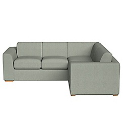 Debenhams - Medium textured fabric 'Jackson' right-hand facing corner sofa end