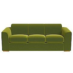 Debenhams - 4 seater velvet 'Jackson' sofa