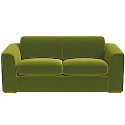Debenhams - 3 seater velvet 'Jackson' sofa
