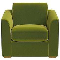 Debenhams - Velvet 'Jackson' armchair
