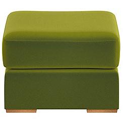 Debenhams - Velvet 'Jackson' footstool