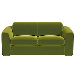 Debenhams - 3 seater velvet 'Jackson' sofa bed