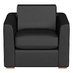 Debenhams - Luxury leather 'Jackson' armchair