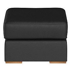 Debenhams - Luxury leather 'Jackson' footstool