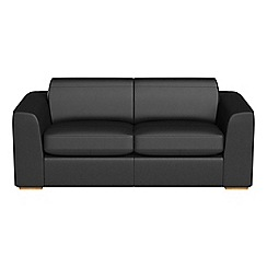 Debenhams - 3 seater luxury leather 'Jackson' sofa bed