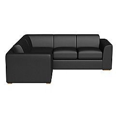 Debenhams - Medium luxury leather 'Jackson' left-hand facing corner sofa end