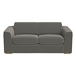 Debenhams - 3 seater natural grain leather 'Jackson' sofa