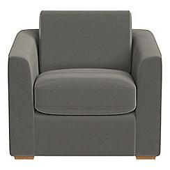 Debenhams - Natural grain leather 'Jackson' armchair