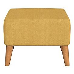 Ben de Lisi Home - Tweedy weave 'Marco' footstool