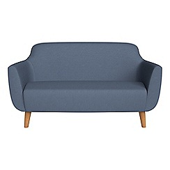 Ben de Lisi Home - Small 2 seater flat weave fabric 'Marco' sofa