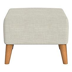 Ben de Lisi Home - Brushed cotton 'Marco' footstool