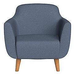 Ben de Lisi Home - Flat weave fabric 'Marco' armchair