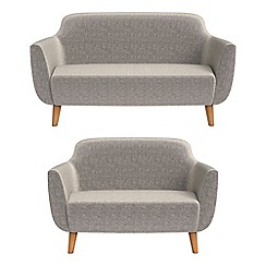 Ben de Lisi Home - 2 seater and compact chenille 'Marco' sofas