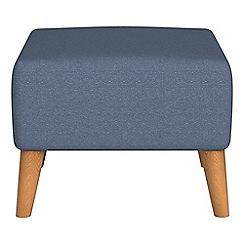 Ben de Lisi Home - Flat weave fabric 'Marco' footstool